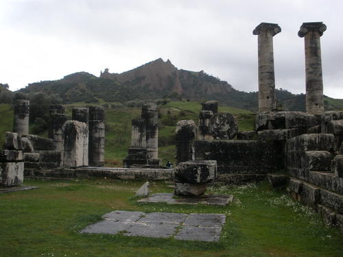 Sardis, capital of the kingdom of Lydia