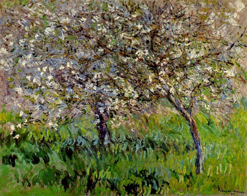 Claude Monet - apples